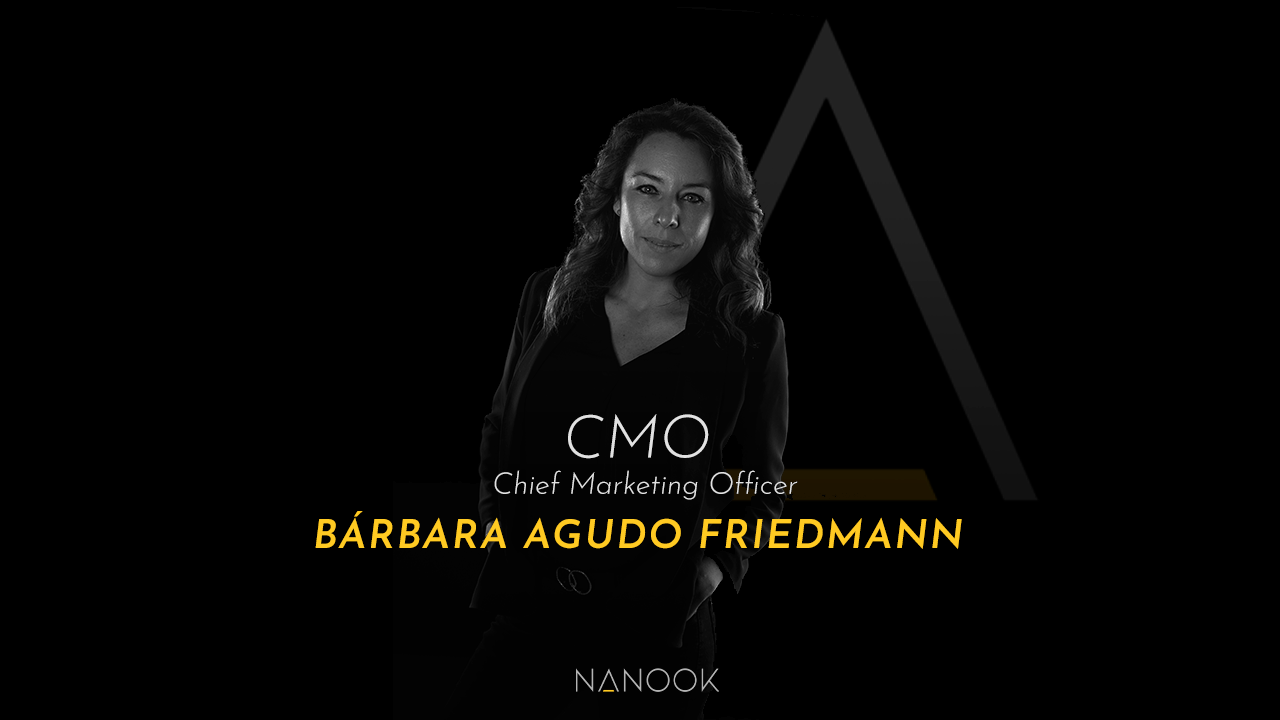 Bárbara Agudo Friedmann la nueva CMO Chief Marketing Officer de Nanook Agency